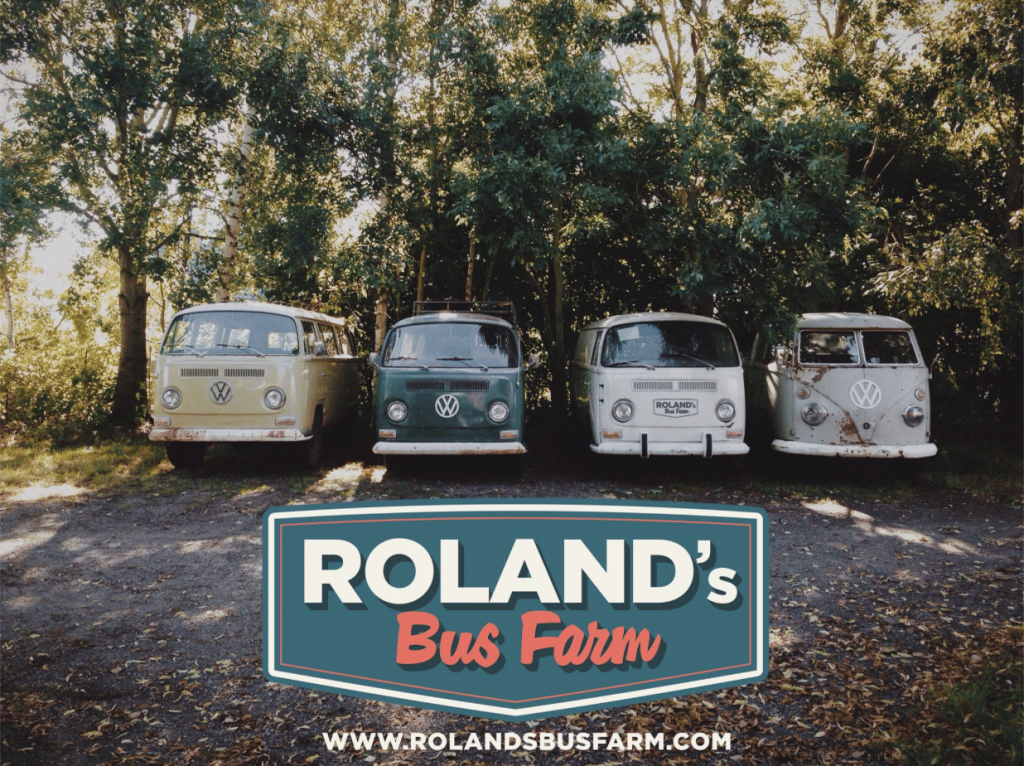 Roland's Bus Farm, combi, belgique