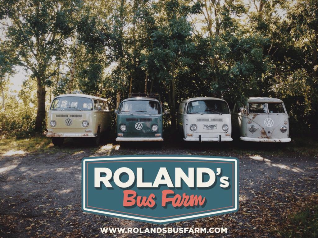 Roland's Bus Farm, combi, belgique